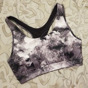 Padded High Impact Sports Bra